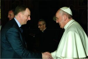 Pope Francis and Prof McGuckin
