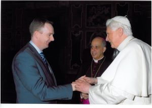 Pope Benedict and Prof McGuckin